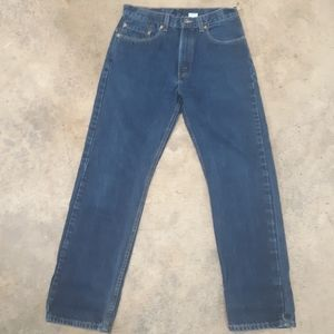 Vintage Levi's 505 blue jeans